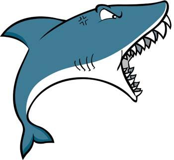 Shark Attack Vector.
