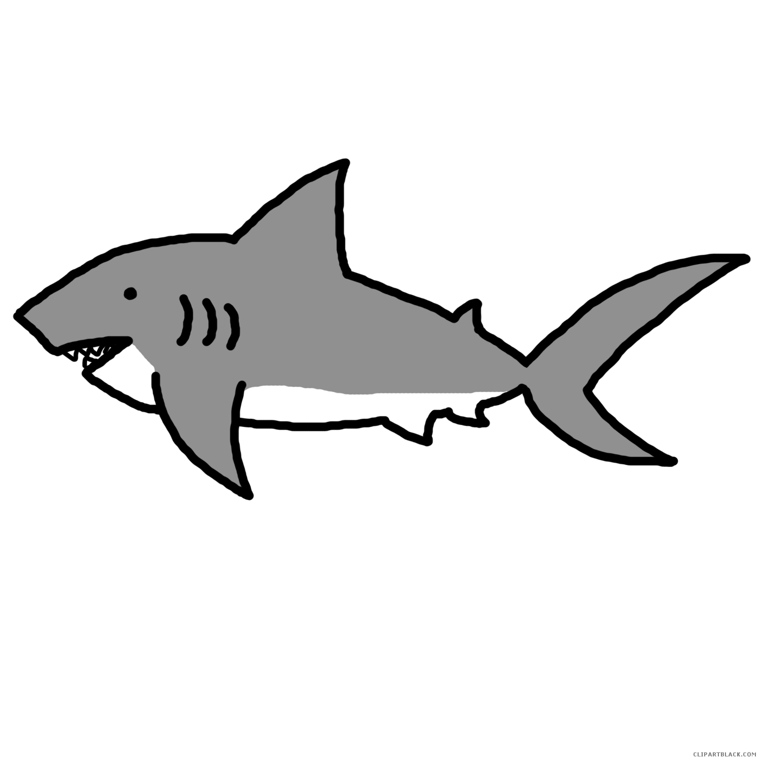 Clipart free shark, Clipart free shark Transparent FREE for.