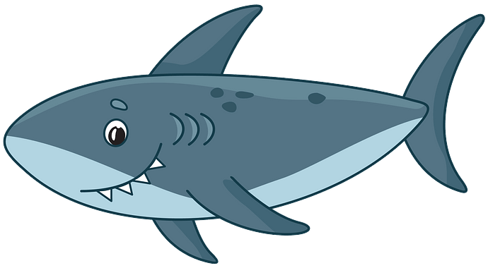 Shark clipart. Free download..