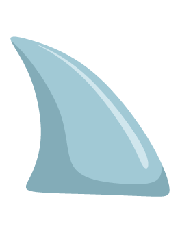 52+ Shark Fin Clip Art.