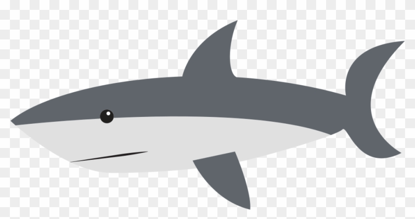 Fish With Shark Fin Clipart.