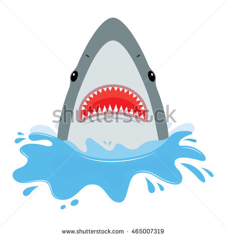 Shark Jumping Stock Photos, Royalty.