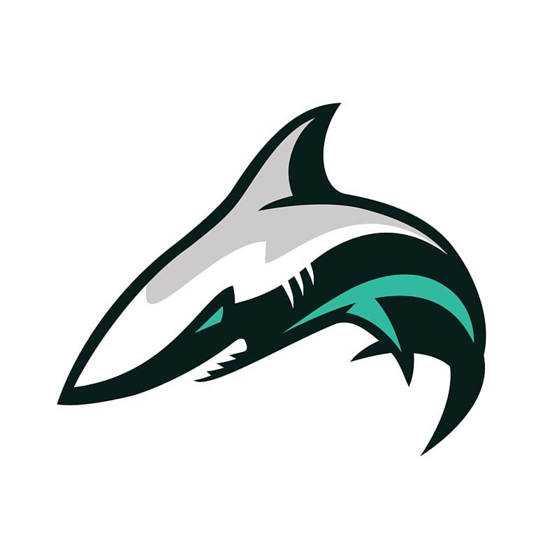 San Jose Sharks logo, Great white shark Logo Blue shark.
