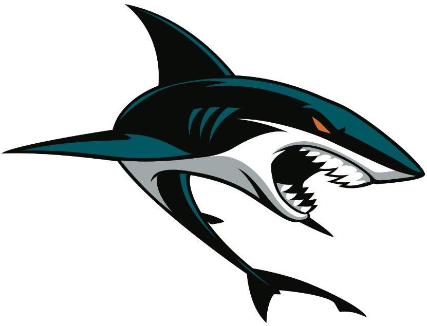 San Jose Sharks Secondary Logo (2017).