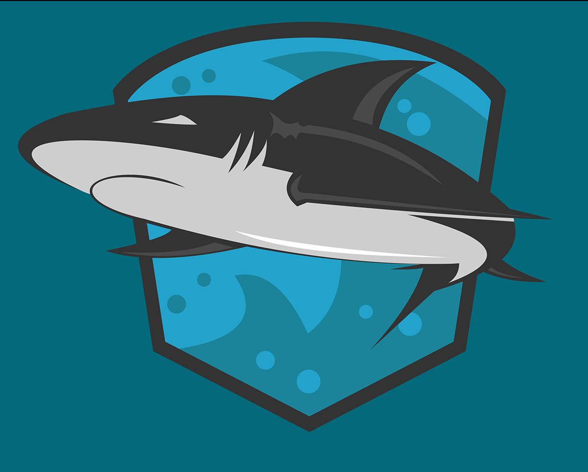 Shark Mascot Logo on Behance.