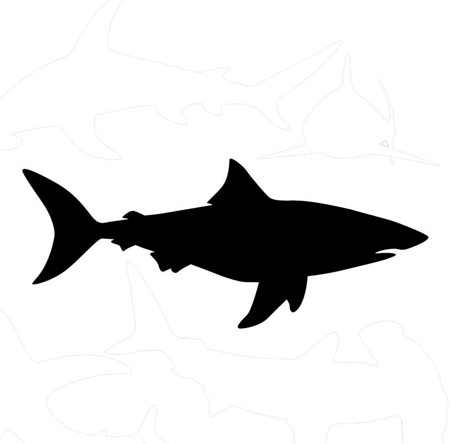 Free Shark Silhouette, Download Free Clip Art, Free Clip Art.