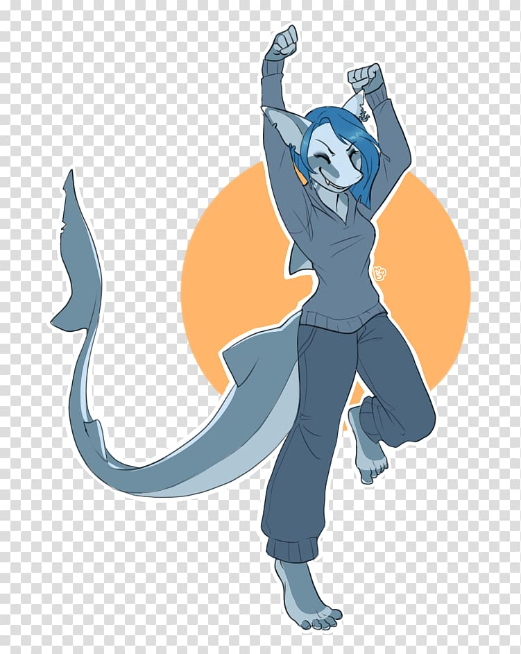 Tiger shark Shark attack Cat, Shark TAIL transparent.