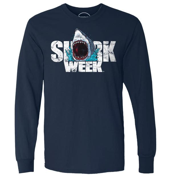 Great White Shark Week Logo.