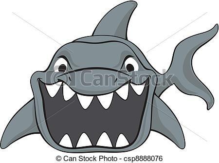 Shark photo booth.