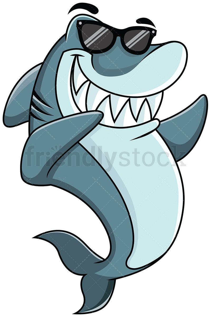 Dabbing Shark in 2019.