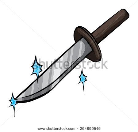 Clipart Sharp Knife.