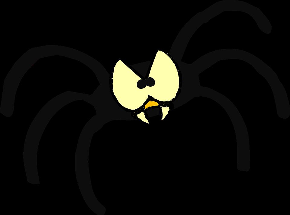 Free vector graphic: Eyes, Spider, Bug, Sharp, Teeth.