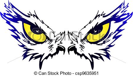 Eagle eye clipart.