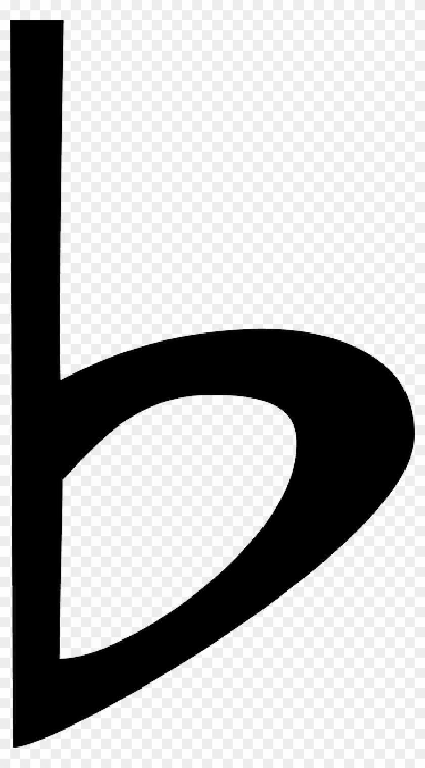 Music Notes Sharp Flat Symbols.