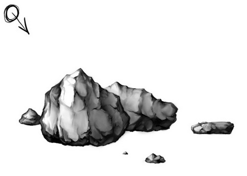 Stone And Rocks Clipart.
