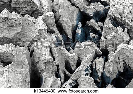 Stock Photography of Sharp rock texture k13445400.