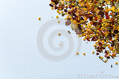 Black Pepper Spice Background Royalty Free Stock Photography.