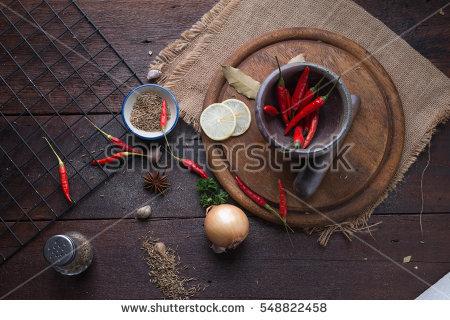 Spices Sharp Stock Photos, Royalty.