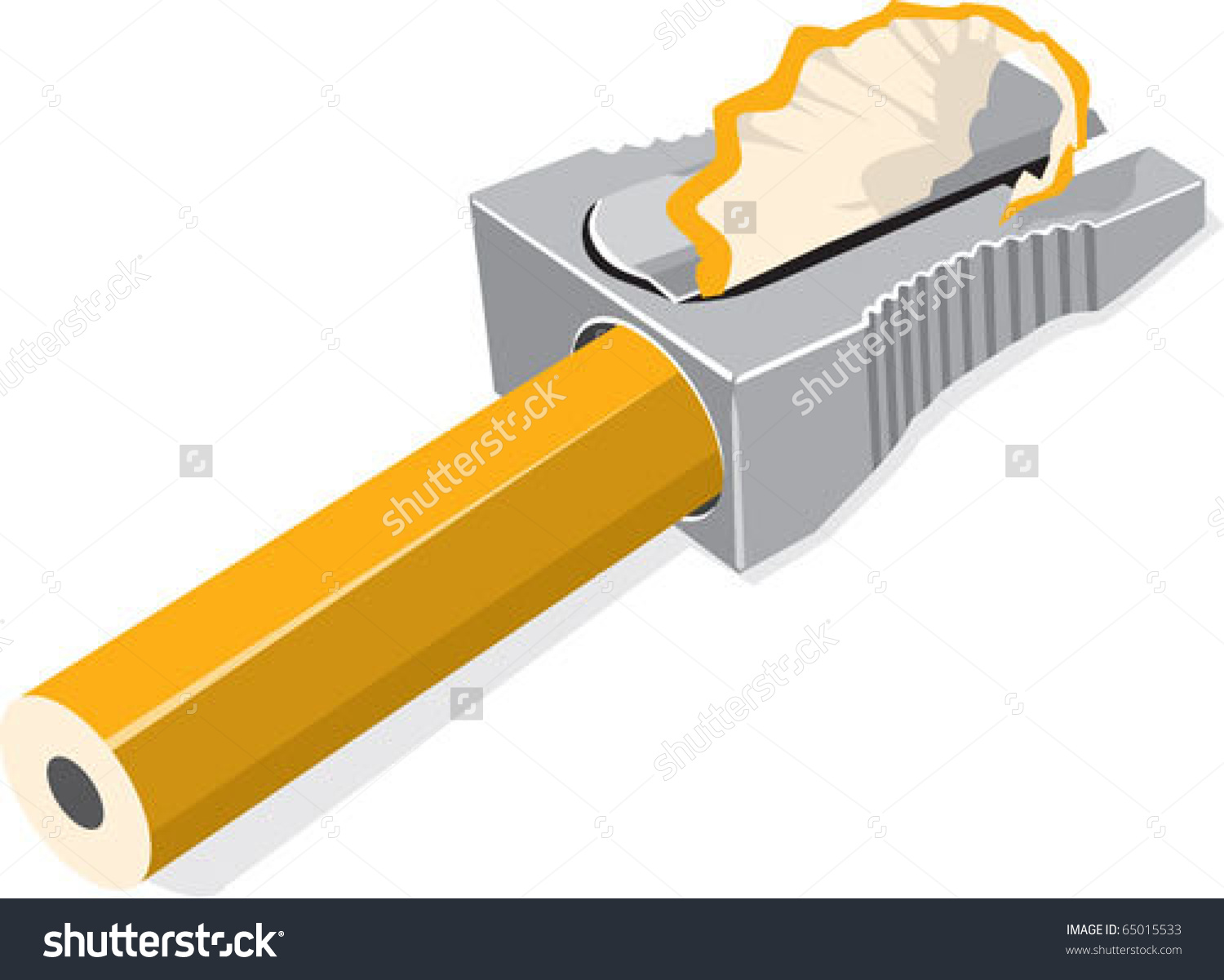 Sharpened pencil clip art.