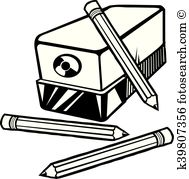 Sharpener clipart black and white 1 » Clipart Station.