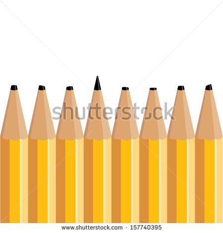 Sharpest Pencil Stock Photos, Royalty.