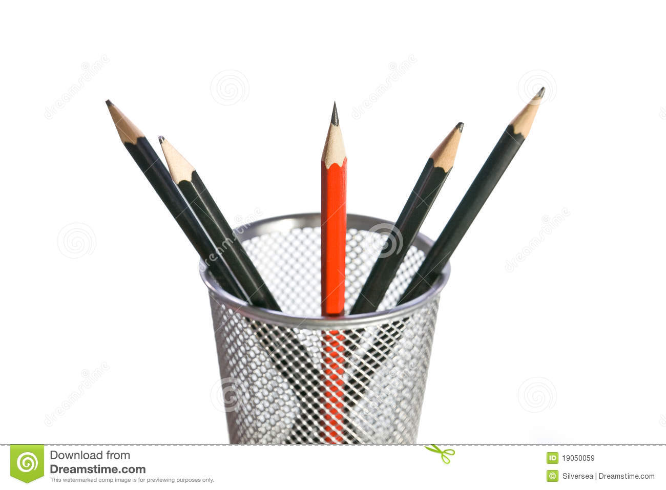 Sharpest Pencil In The Bunch Stock Photos.