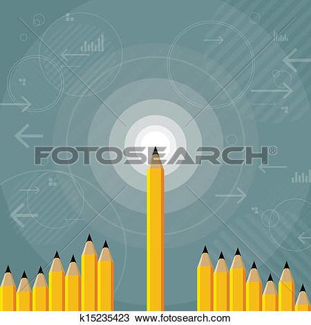 Clipart of Sharpest Mind k15235423.