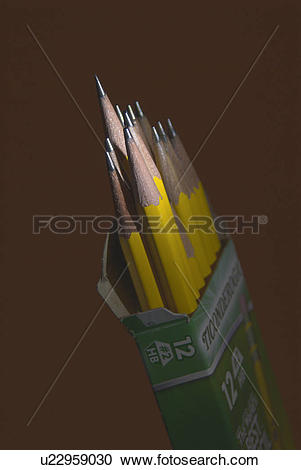 Stock Photography of pencil, outstanding, brilliant, concept.