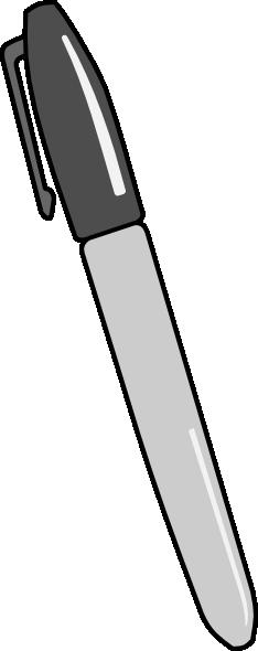 Permanent Marker Clip Art at Clker.com.