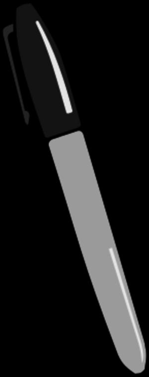 Permanent marker clipart.