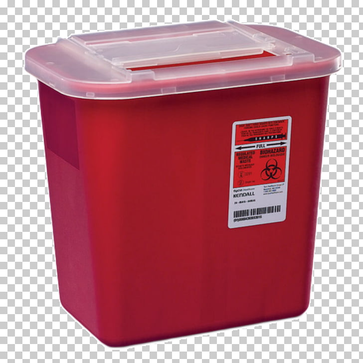 Sharps waste Gallon Quart Container Medical waste, container.