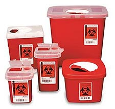 Biohazard Waste Disposal.