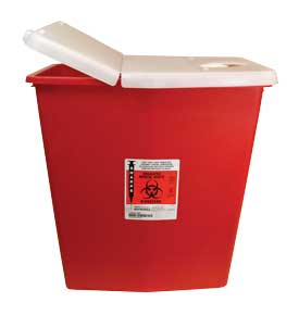 12 Gallon Red Sharps Containers from Unimed Corp.