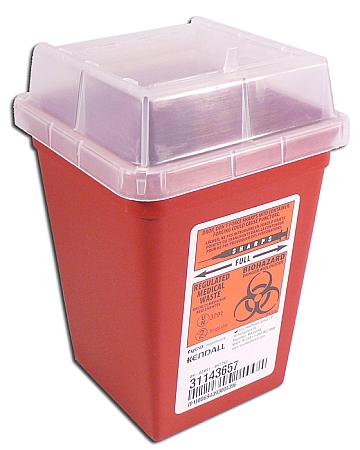 1 Qt Sharps Container.