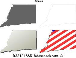 Shasta Clip Art Illustrations. 3 shasta clipart EPS vector.