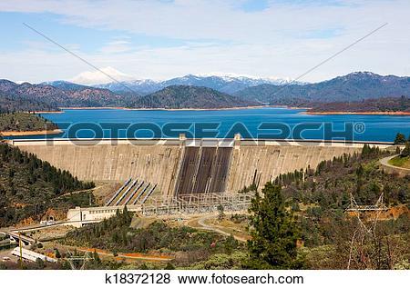 Pictures of Shasta Dam k18372128.