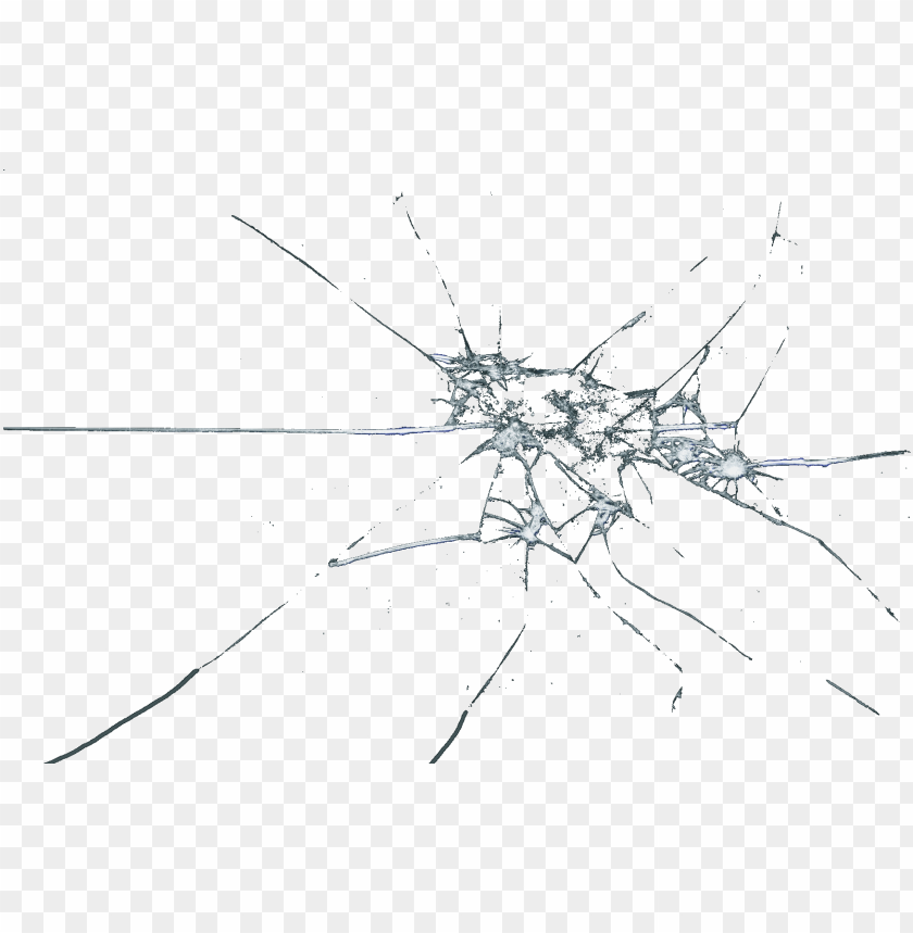 shattered glass effect png PNG image with transparent.
