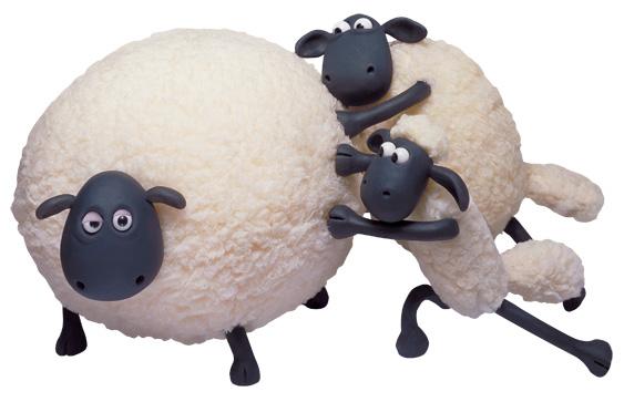 Shaun the sheep clipart.