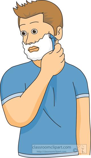 Shaving Clipart.