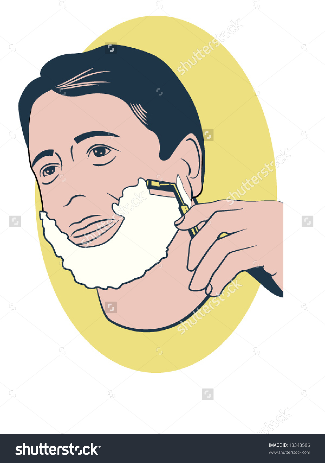Clipart shave.