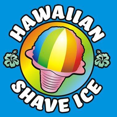 shaved ice logo.