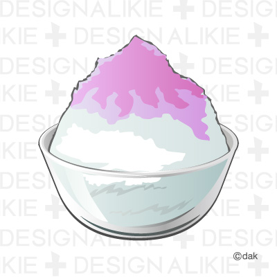 Shaved ice clip art.