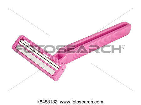 Stock Photo of Pink lady shaver k5488132.