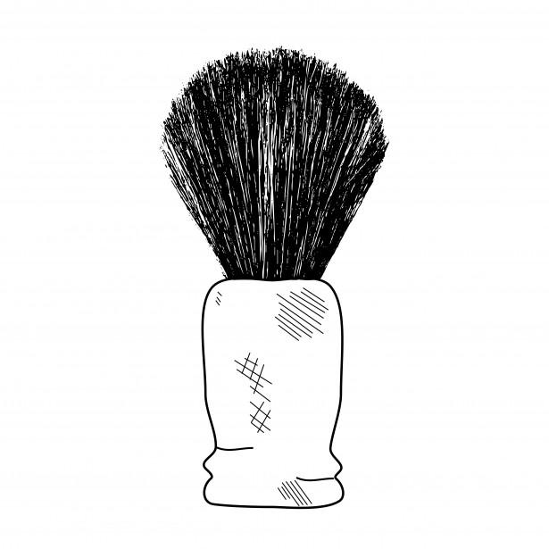 Shaving Brush Clipart.