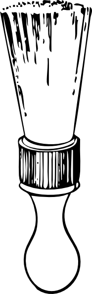 Shaving Brush clip art Free Vector / 4Vector.