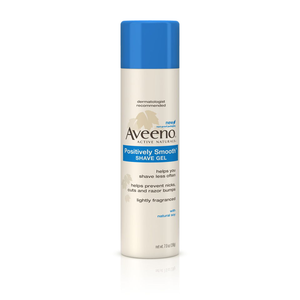 Aveeno Positively Smooth Shave Gel, 7 OZ.