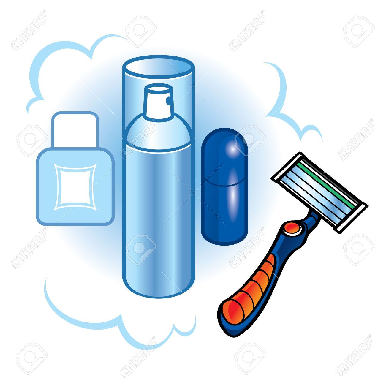 Shaving Foam Safety Razor Blade Body Care Hygiene Bathroom Royalty.