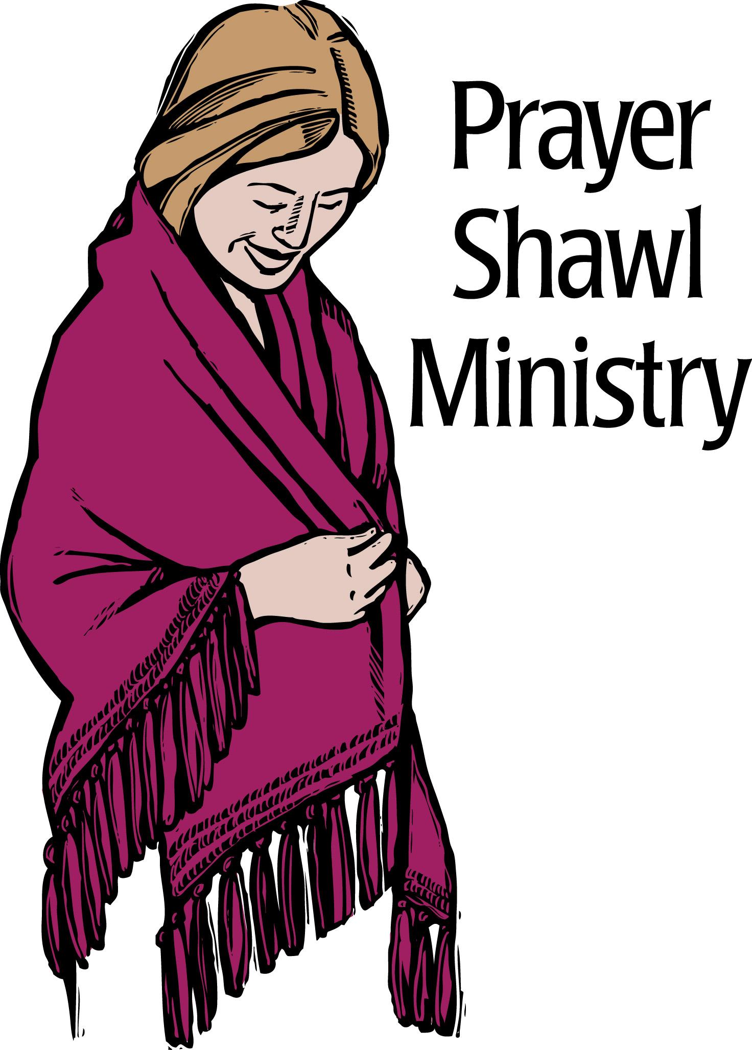 Clip Art Prayer Shawl Knitting Clipart.
