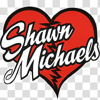 Shawn Michaels Logo transparent background PNG clipart.