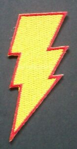 Details about DC Comics Shazam! Logo Embroidered Patch.